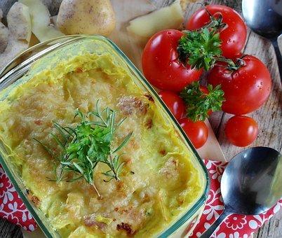 Blumenkohl-Kartoffelauflauf